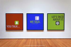 Gallery Photo of Random Taco Talk Social Media Promo.